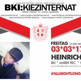 ALL NIGHT LONG w/Heinrich & Heine