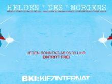 HDM | Helden Des Morgens – Der Techno Frühclub (Sonntags)