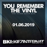 You Remember The Vinyl
