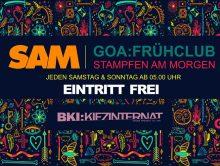 ॐ SAM | Stampfen Am Morgen – Der Goa Frühclub ॐ
